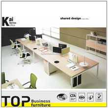 Attractive design and excellent quality modern office partition(KAI 8 seat workstation)