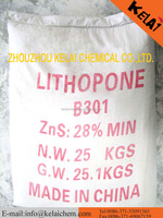 Lithopone B301,B311 for paints, coating, plastic, rubber,masterbatch use