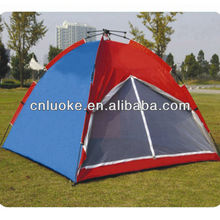 Three to four person waterproof camping tent