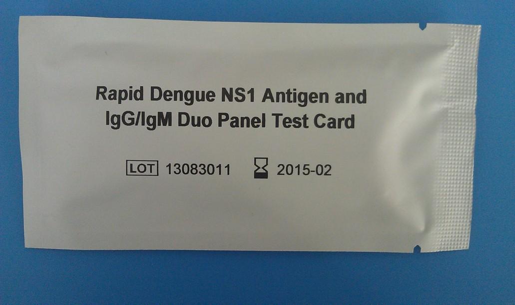 Rápido del dengue IgG / IgM prueba