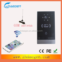 phone spy camera GSM intercom with mobile phone open the door