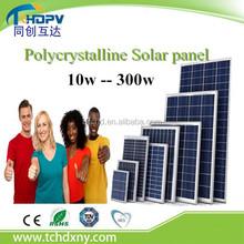 Cheap price Solar modules price 100w / 200w / 250w / 300w Polycrystalline Solar panel battery for solar power system