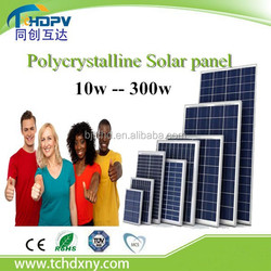China manufacturer !!! Solar modules price 100w / 200w / 250w / 300w Polycrystalline Solar panel
