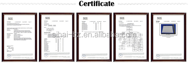 certification for pp corrugated sheet