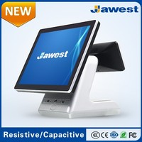 JWS POSAB1511 All In One Double Touch Screen POS Terminal For Restaurant