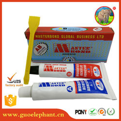 Hot sell two components transparent AB epoxy resin glass laminating glue for glass products stick bonding sealing