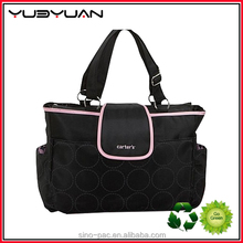 2015 Best designer latest style mens multi pockets hot sell branded large tote diaper bags