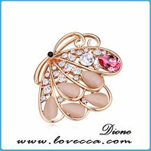 Crystal Austrian Crystal Brooch, Best Costume Wedding Dress Brooch Pin, Eco-friendly Individual Brooch Pin BH2014123061