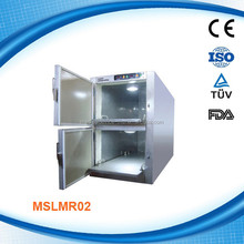 Two Rooms Body Mortuary Refrigerator (MSLMR02-G)