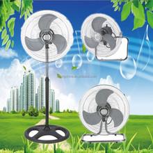 hot sell 3 in 1 industrial fan electric power pedestal cheap stand fan