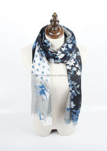 2015 fashion Stripe Scarf Dots Stole Floral Shawl