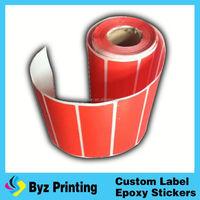 metallized garment peel off care label paper for laser printer