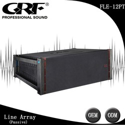 GRF Single 12 Inch Vented LF 3 Way design Free EASE FOCUS Passive Line Array FLE-12PT