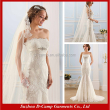 Wd-1430 senza spalline in forma e flare ultime abiti da sposa elie saab abito da sposa sexy montati Londra prezzi
