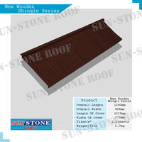 roof sheet magnesium oxide discount mix color stone-coated metal