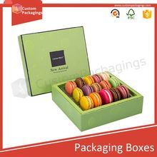Shanghai Timi rigid boxes for gifts handmade jewelry boxes unique macaroon favours