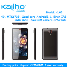 4G 5inch 1.3GHz/Quad High Quality Factory Price Cheap 1Gb Ram Mobile Phone