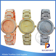 Discount Luxury Diamond Stainless Steel Watches for men