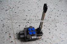 2 manejar, múltiples de la válvula de dirección, manual de la válvula de control, zd-l10