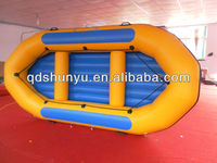hot!!!4.3m 8passengers shunyu inflatable raft boat