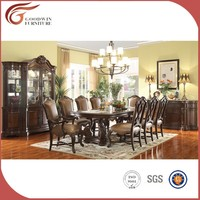 high end furniture dining room sets,classic luxury wooden dining room set