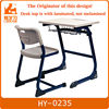 Metal frame student desk and chair