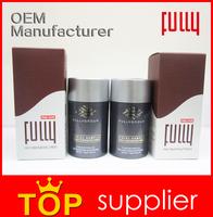 2015 Innovative products Pure Keratin Hair Building Fibers OEM free sample 18 colors
