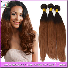 Directly from factory alibaba top selling no chemical processed dark brown brazilian hair