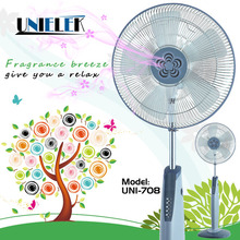 Stand by 220v auto cooling fan motor scents inside retractable electirc fan