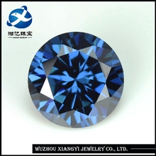 Loose cubic zirconia gemstone wholesale round polished gemstones