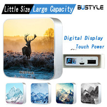 Smart universal portable charger mobile power bank 6600mAh customized designs high quality brand