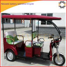Neweek for carry passenger electric battery operated tricycle