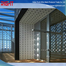 HOT sale Perforated metal sheet for safety barrier fence/ decorative wall / louvers / Building Materials