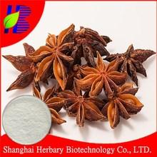 100% natural illicium verum hook.f. extract, shikimic acid 98%