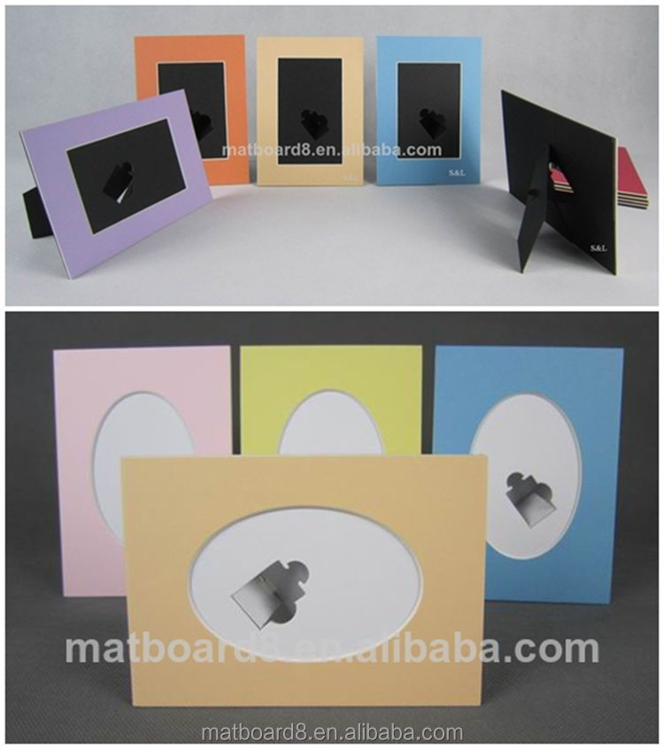 Cardboard Picture Frame With Easel Backs Photos Frame 5x7,6x8,8x10 ...