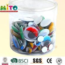 plastic eyes with eyelash Safe Children Toys Eyes diy crafts