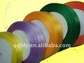 cinta de raso del arco iris