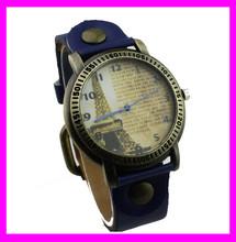 KD2791 fashion watches ladies fashion watch leather belt eiffel watch