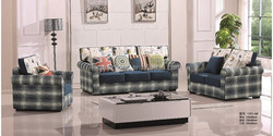American country style Cloth sofa furniture / high quality fabric sofa set