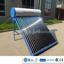 2015Best Quality and Low Price CE ISO CCC Patent compact low pressure solar water heater for Home & office made in China
