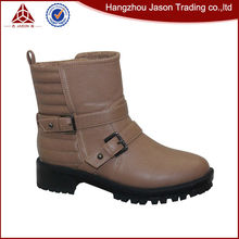 Diseño Nuevo alta calidad botas de cuero