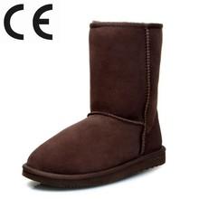 Chocolate Color Australia Merino Sheepskin Boot
