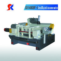 wood rotary peeling lathe/ spindle less peeling machine skype:peny1231217