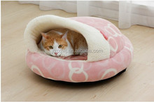 Soft round Pet bed design furniture