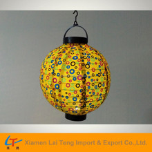 China regional battery operated cloth feature lantern