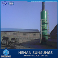 Industrial air pollution control plant/waste gas desulfurization system