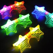 Wholesale star shape light up party glasses,led glasses SJ-LG19