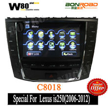 On sale!Car dvd player for lexus is250 Radio DVD Player GPS Navigation System Bluetooth,Ipod,Radio,TV