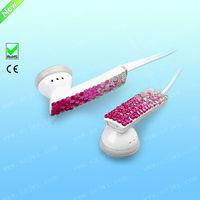 Newest style high sound quality Swarovski Jeweled Crystal Mp3 iPod Earbuds Earphones