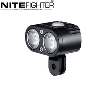 High Impact BT21 LED Front Bicycle Light Made of Durable Aircraft-Grade Aluminum